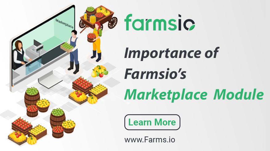 Importance of Farmsio Marketplace Module